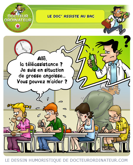 Le Doc' assiste au Bac