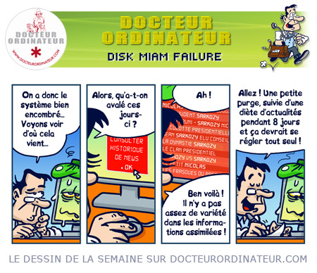 Disk Miam Failure