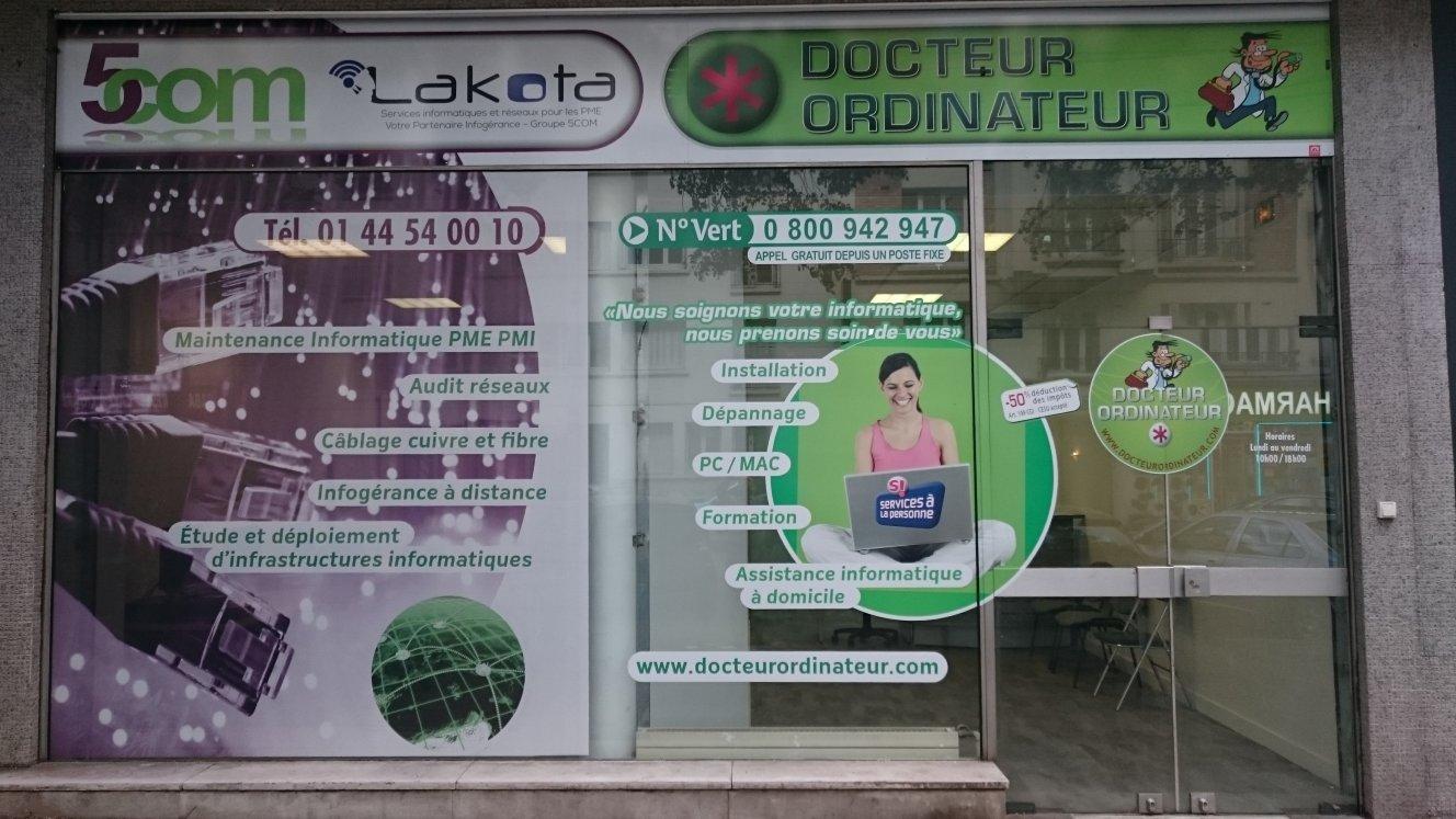 Docteur Ordinateur Paris déménage !