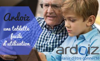La tablette Ardoiz, une tablette facile d'utilisation !