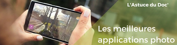 meilleures application photo