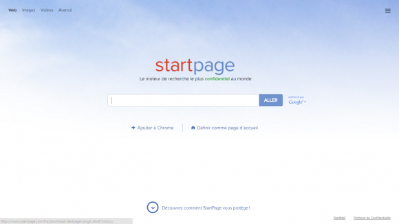 accueil start page