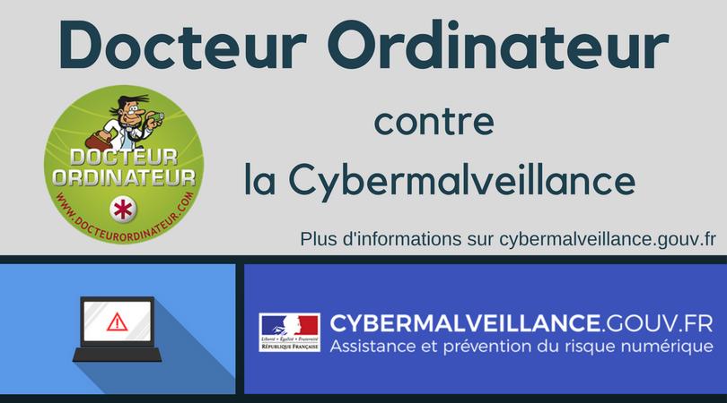 Docteur Ordinateur contre la cybermalveillance -